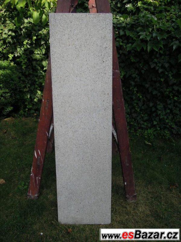 Parapetní deska - teraco