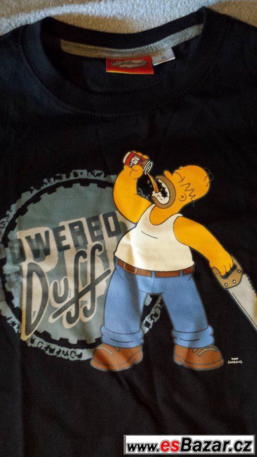 Pánské tričko the Simpsons - Homer