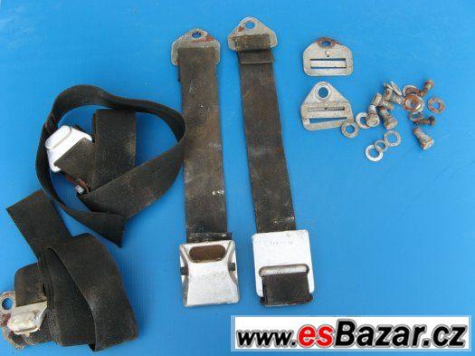 Bezpečnostní pásy, stěrače- Volha, Škoda