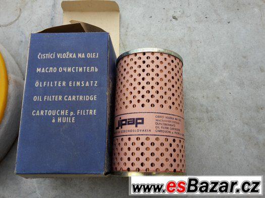 Filtr oleje a vzduchu- Škoda, Volha, VAZ, Fiat 124, 125