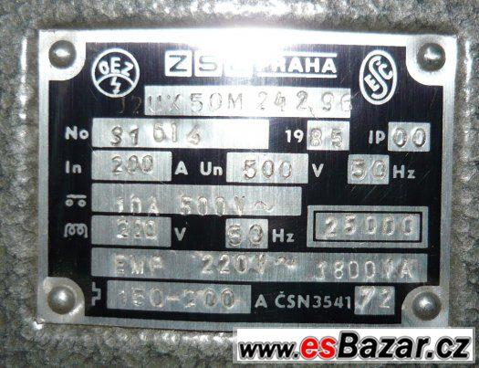 Jističe J2 UX 50M - nové