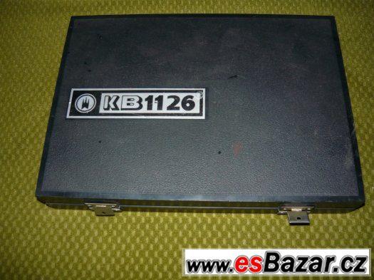 Registrační kompresiometr pro zážehové motory KB 1126