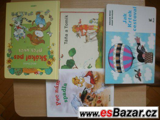 Dětské knížky v perfektním stavu