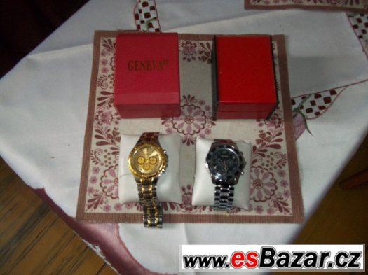 SLEVA Pánske hodinky Orlando, Geneva Velká sleva