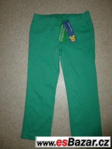 elastické kalhoty 3-4 roky
