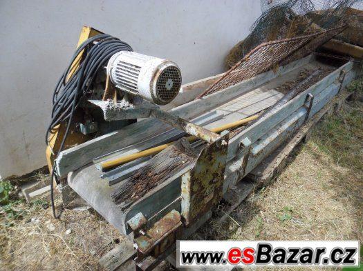 pásový dopravník š.p.500mm délka 8,5m