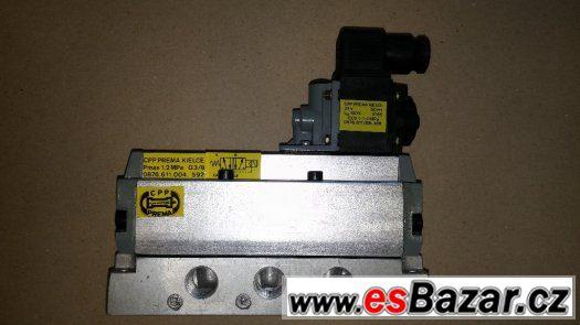 CPP pneumatický elektromagnetický ventil PREMA Kielce 1.2MPa