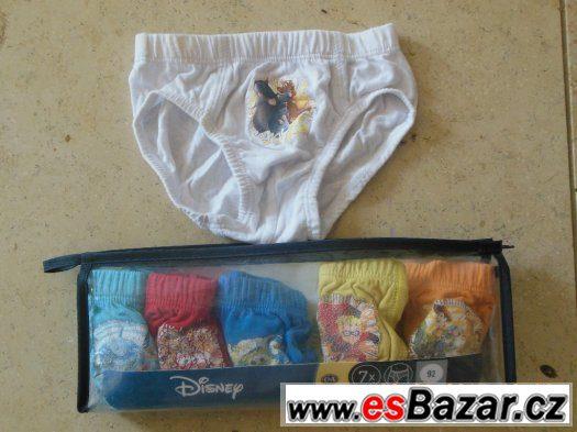 Slipy chlapecké C&A Disney 6 ks vel. 92
