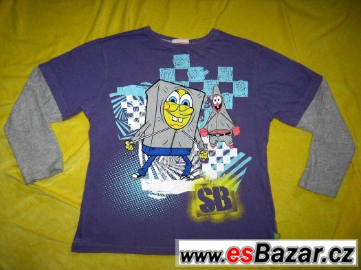 10x trička na kluka do školy 9 - 10let