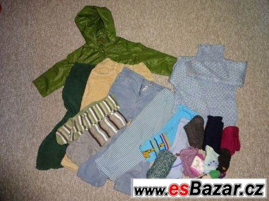 oblečení vel 104 _ 110  podzim zima