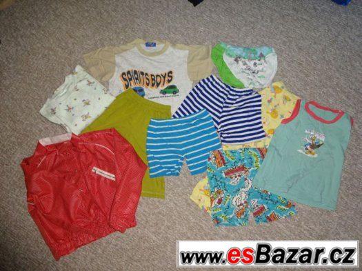 oblečení vel 104 - 110 léto 2