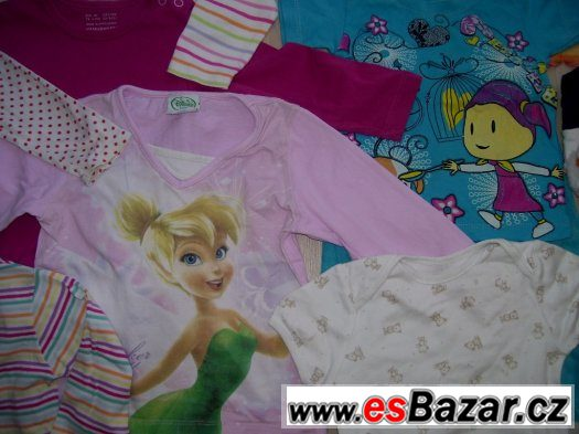 Balík dětského oblečení-32ks+3x boty+7xponožky-vel.74-86