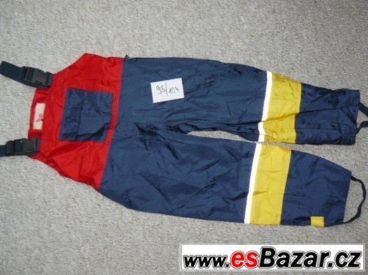 nové nepromokavé kalhoty vel. 98/104