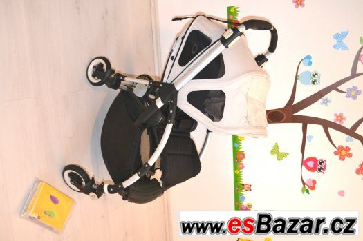 BUGABOO BEE PLUS/3 LETNÍ STRISKA-ARCTIC GREY