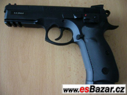 AIRSOFT manual pistole CZ 75 SP-01 Shadow - NOVÁ