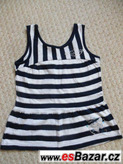 Prodám  dívčí   triko-tuniku vel.116, CaA