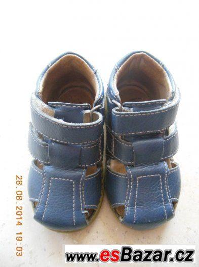 Zdravotní sandály Pegres vel. 20 modré