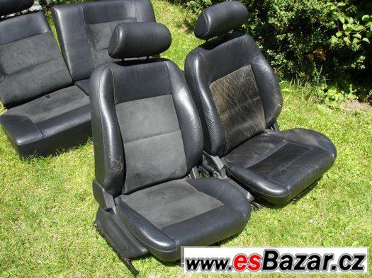 Peugeot 106 sedačky polokůže