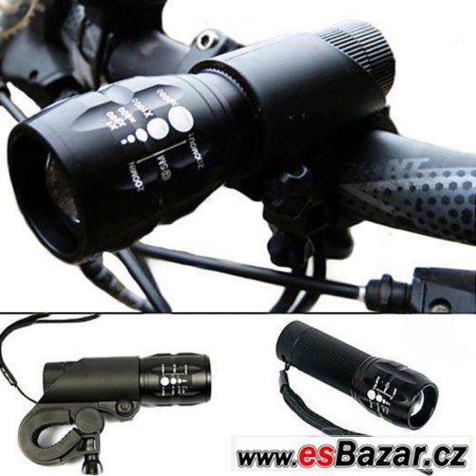 vysoce svítívé LED přední světlo na kolo nebo ruční baterka