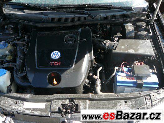 VW golf IV 1,9 TDI 4motion
