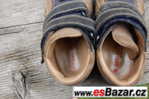 Tenisky Super Fit, vel. 21 + sandálky zdarma