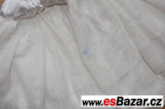 Baletní dres se sukýnkou, 98/104, 2-4 roky - flíčky