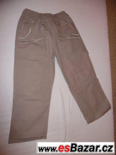 Prodám chlapecké kalhoty  vel.122