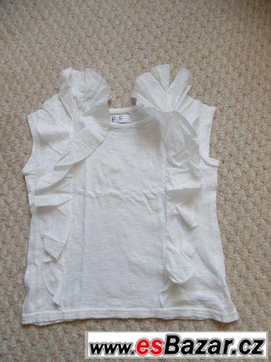 Prodám  dívčí halenku-triko  vel.116, FaF-NOVÁ