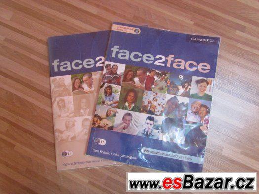 Učebnice + workbook Face2face Pre-Intermediate