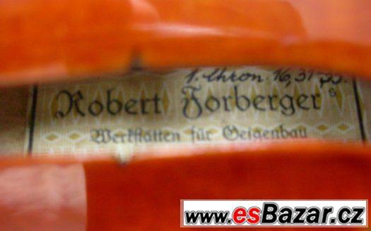 Mistrovské housle R. Forberger.