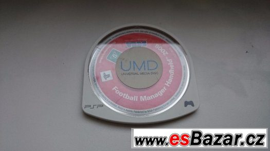 PSP Football Manager Handheld 2008 + SanDisk Memory stick