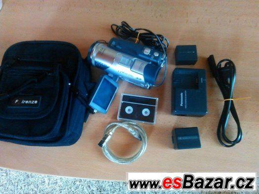 Prodám videokameru panasonic NV-GS120 3CCD