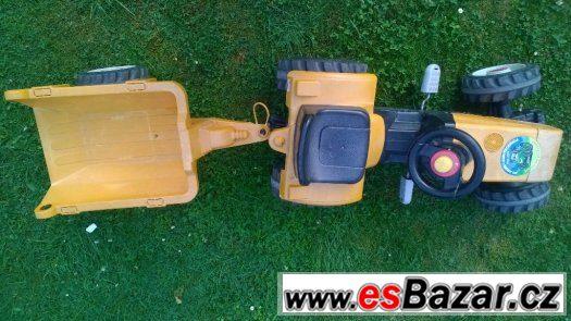 Šlapací traktor + valník