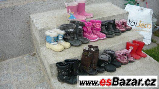 Set dětských bot 4