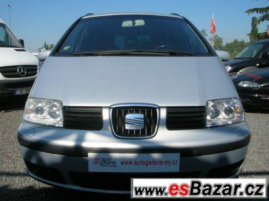 Seat Alhambra 1.9 TDI 4x4 6 rychlostí