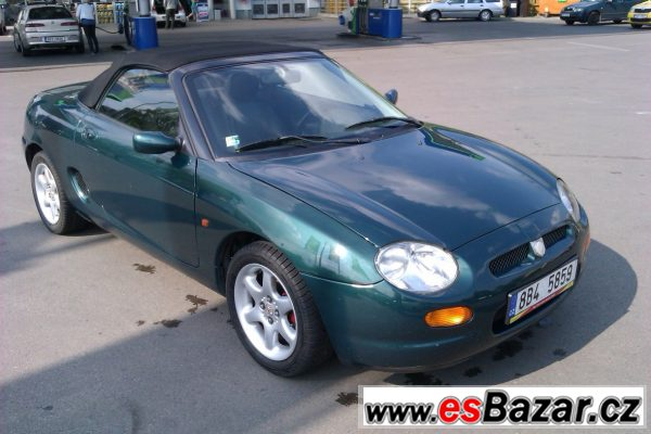 MG MGF 1.8 VVC, 107 kW, r.v. 1997