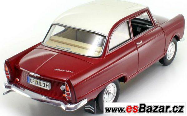 Kovový model DKW Junior 1/18