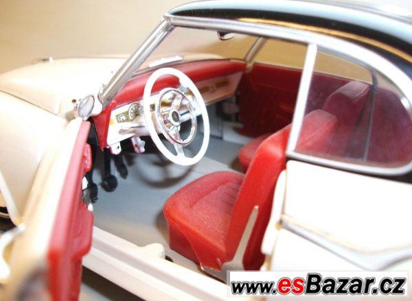 Kovový model Borgward 1/18