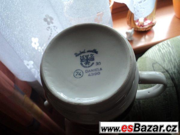 Kávová souprava ruční malba
