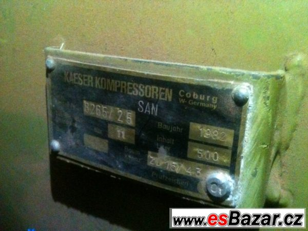 Kompresory Orlík a Kaeser