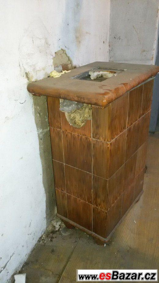 Kachlová  historická kamna OHB