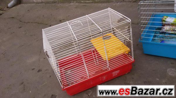 Klec pro křečka a klec pro morče