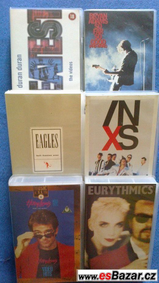 Kazety VHS