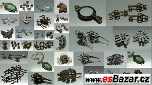 Komponenty pro výrobu bižuterie