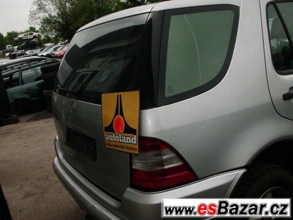 Mercedes ml 430 náhradní díly