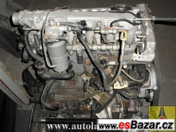 MOTOR ALFA ROMEO 2,4JTD 100kW