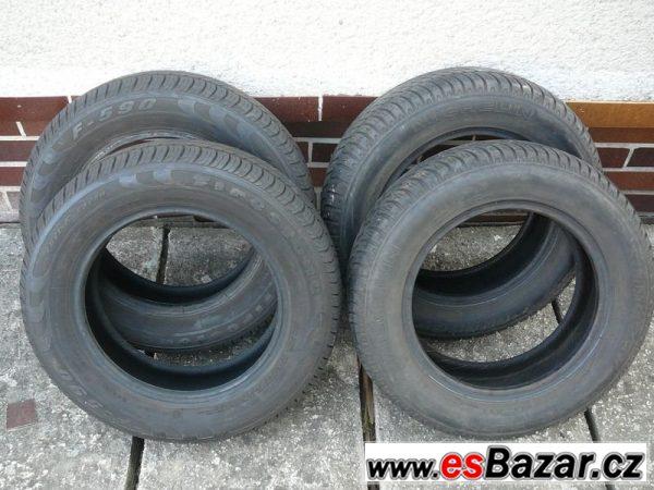 Letní pneu 165/70 R14