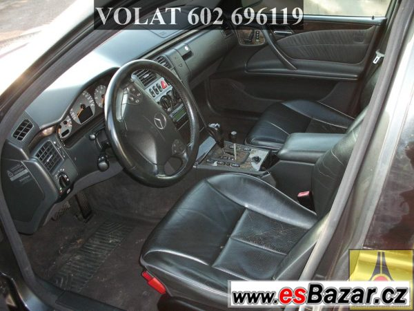 Mercedes E210  2.7CDI náhradní díly