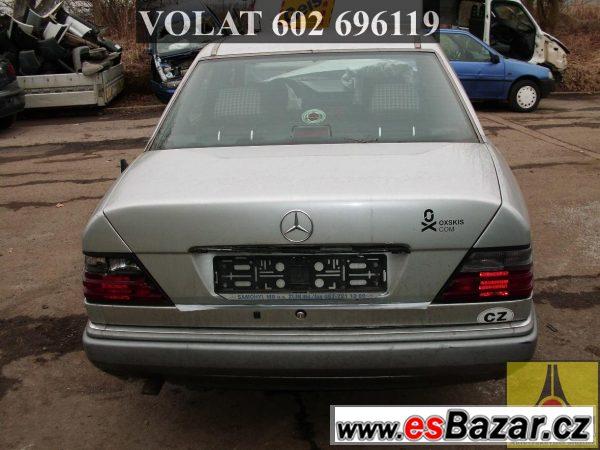 Mercedes 124 náhradní díly