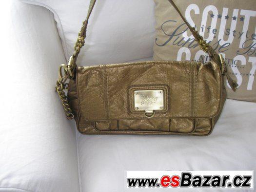 Nádherná zlatá kabelka zn. Zippo